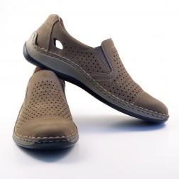 Pantofi barbati Rieker, 05286-64, Bej
