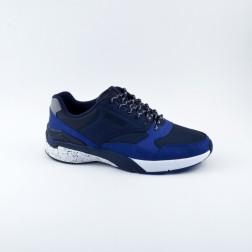 Pantofi sport barbati din material textil, Jack&Jones, Albastru