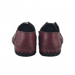 Pantofi barbati Rinascenti, 542, Bordo