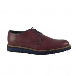 Pantofi barbati Rinascenti, 505, Bordo