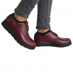 Pantofi dama Rinascenti, 162602, Bordo