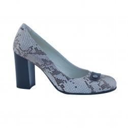 Pantofi dama Clarette, 670, Maro