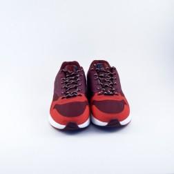 Pantofi sport barbati din material textil, Jack&Jones, Rosu