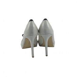 Pantof dama CafeNoir, din piele ecologica, Bej