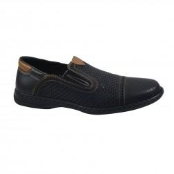 Pantofi barbati Rieker, 01357-00, Negru