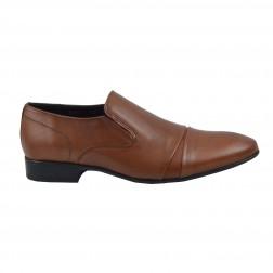 Pantofi barbati Rinascenti, 566, Maro deschis