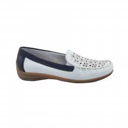 Pantofi dama Remonte, D6211-80, Alb