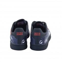 Pantofi sport barbati din piele ecologica, Jack&Jones, Negru