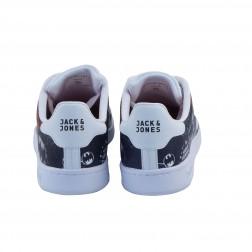 Pantofi sport barbati din piele ecologica, Jack&Jones, Alb