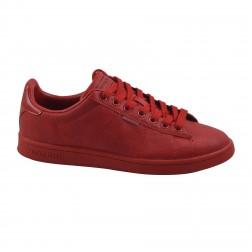 Pantofi sport barbati din piele ecologica, Jack&Jones, Rosu