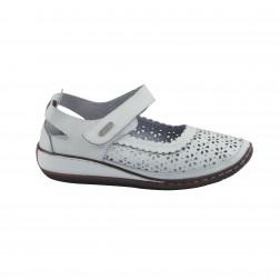 Pantofi dama Topway, B723024, Alb
