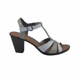 Sandale dama Rieker, 64174-80, Alb