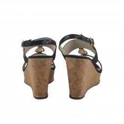 Sandale dama Laura Biagiotti, 989, Negru