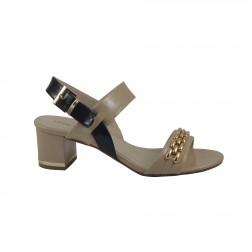 Sandale dama Laura Biagiotti, 962, Bej